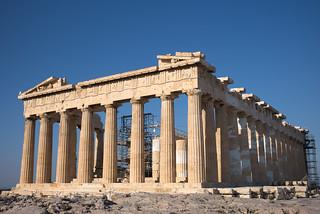 The Parthenon in the morning sun