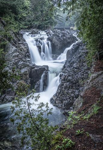 splitrockfalls adirondacks waterfall