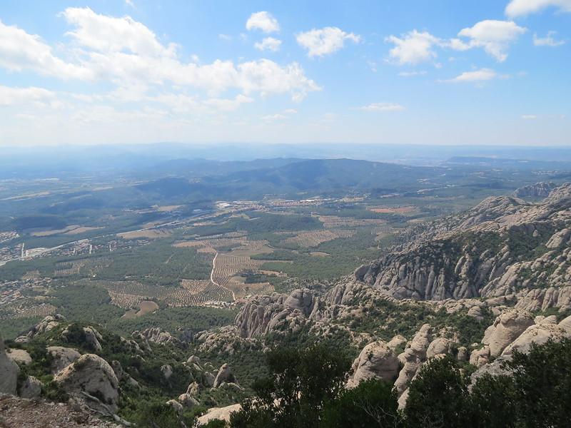 Mirador de Sant Jeroni: vista cap a El BrucIMG_2639