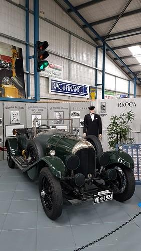 Bentley 1924 known as Billy at WA Motor Museum at Whiteman Park.