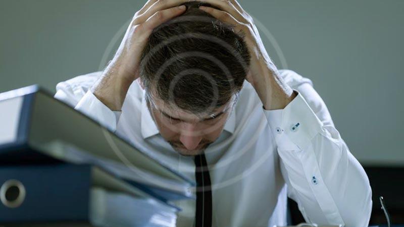 Stres dalam pekerjaan dapat menimbulkan masalah kesehatan jantung.