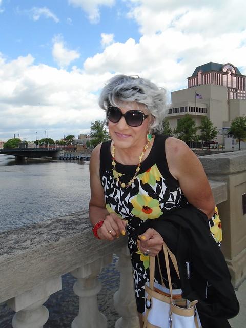 Downtown Milwaukee, The Milwaukee River, And Moi