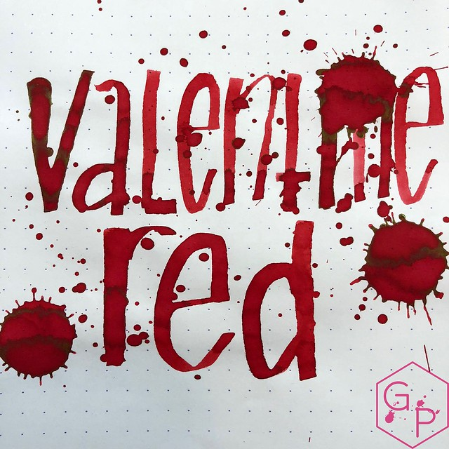 Monteverde Valentine's Red Ink Review @MonteverdePens 11