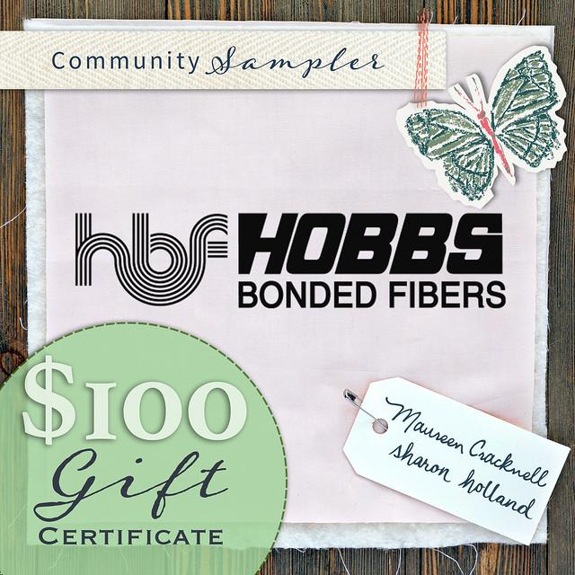 $100 Hobbs Batting Prize