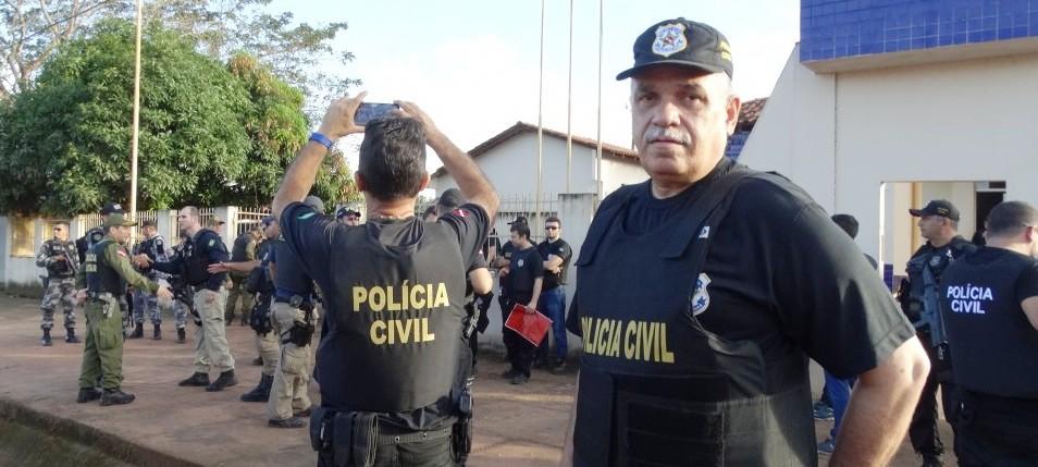Operação contra o tráfico de drogas é deflagrada; 140 policiais estão nas ruas, Nelson Silva, delegado