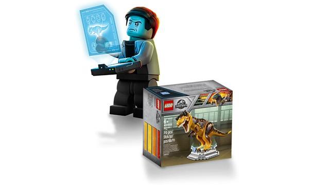 LEGO Jurassic World Tyrannosaurus Rex - ultrarzadki zestaw