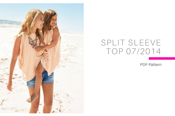 Split Sleeve Top