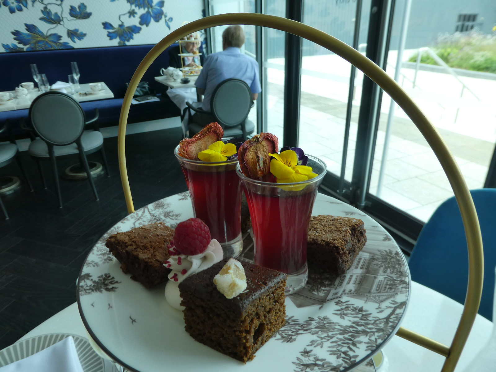 Afternoon tea, World of Wedgwood, Barlaston, Stoke-on-Trent