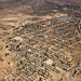 An aerial view of Golo Town, in Jebel Marra, Central Darfur