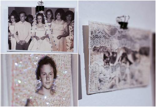 Muestra en ARP de Agustina Sirvent, fotografias intervenidas; RIO CUARTO