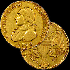 1792 gold washington piece
