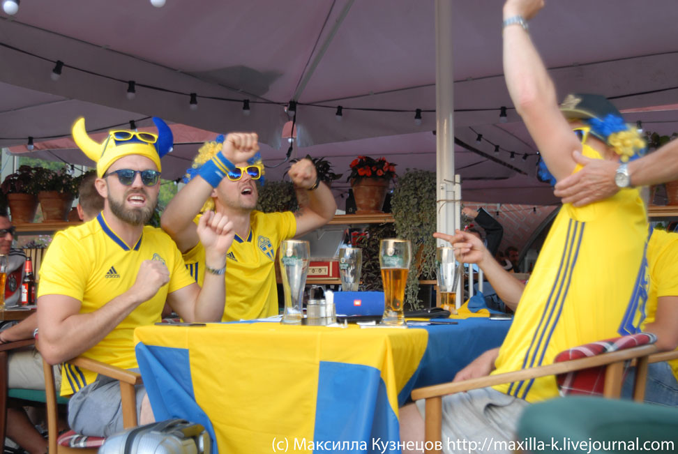 Swedes in Moscow