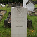 Grave of Corporal Frederick John Tanner, Royal Engineers, Haycombe Cemetery, Bath, Somerset