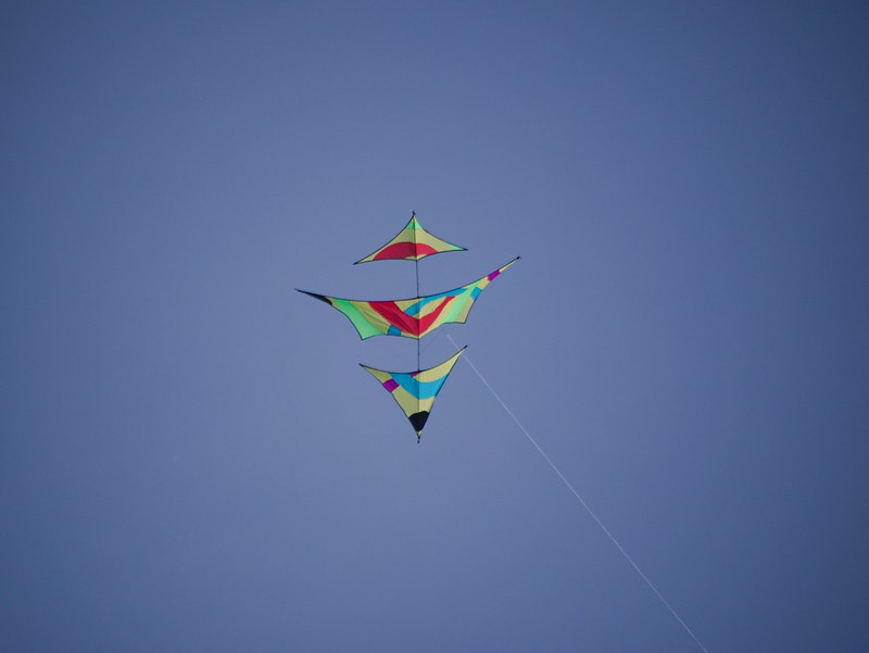 A day out a Palm Bay flying kites