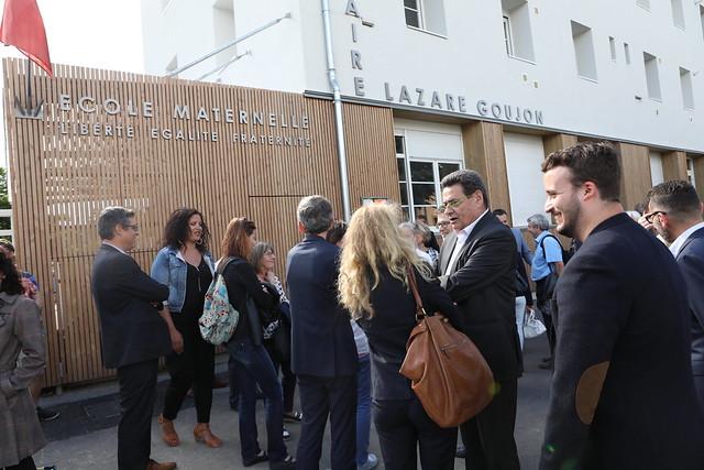 Rénovation groupe scolaire Lazare-Goujon