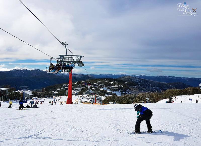mount buller snowboarding