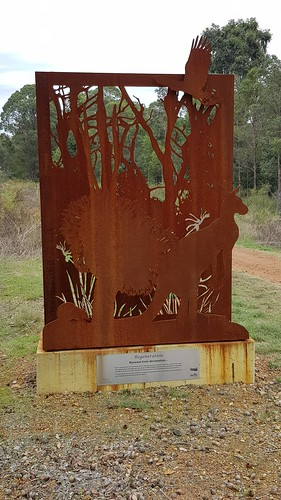 Rail Trail walk, and memorial to the 2014 bush fire that ravished Parkerville, Stoneville and Mt Helena, WA.
