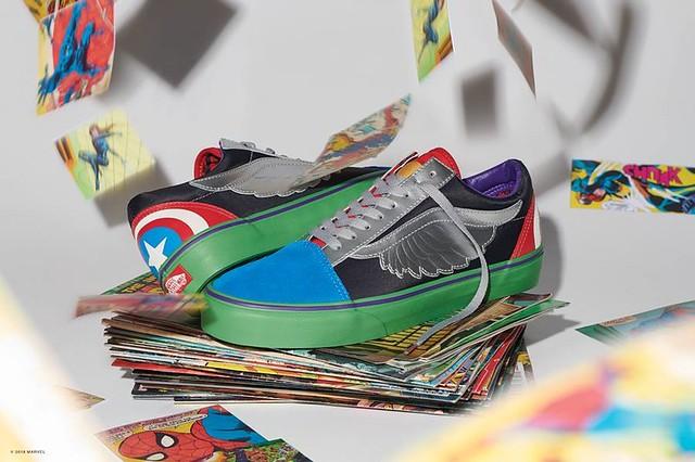 「販售資訊公開!!」注入滿滿的英雄之力!!MARVEL × Vans 超級英雄聯名鞋款、服飾、配件 火熱登場~~