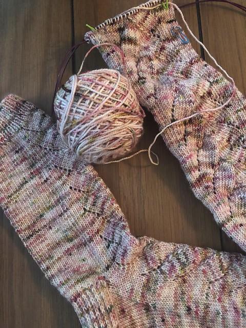 Will O'the Wisp socks