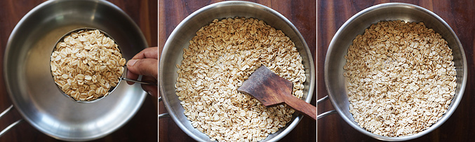 How to make oats cornflakes ladoo recipe - Step1