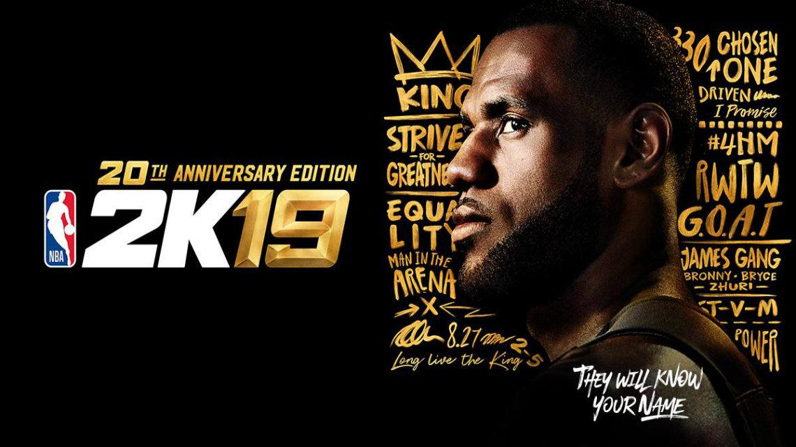 NBA 2K19 20. oyun özel seride LeBron James yer alacak