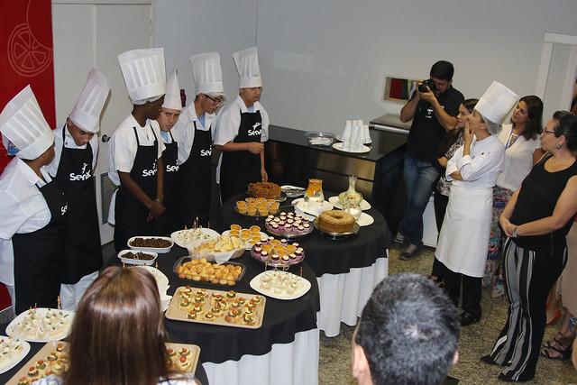 Senac forma alunos da APAE em curso de Gastronomia