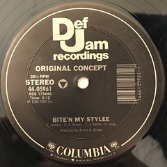 ORIGINAL CONCEPT:BITE'N MY STYLEE(LABEL SIDE-A)