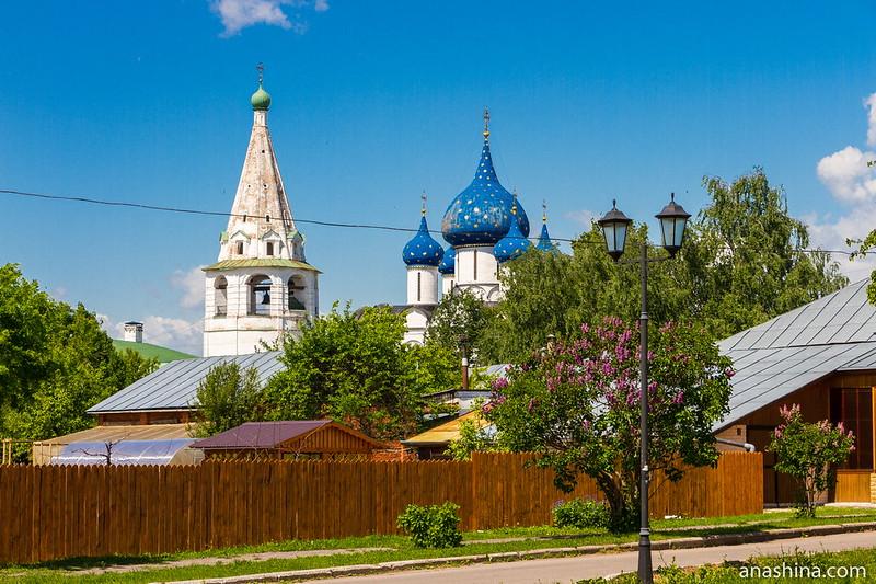 Тихие улицы Суздальского кремля