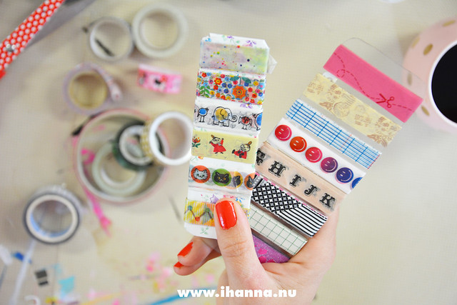 Washi Tape Sampler tutorial Video + blog post