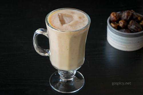 Apple Dates Milkshake Recipe by GoSpicy.net