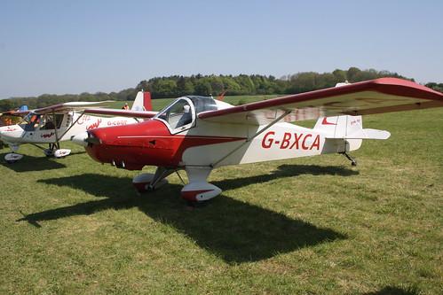 G-BXCA HAPI Cygnet SF-2A [PFA 182-12921] Popham 050508