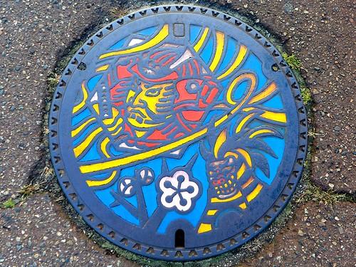 Mitsuke Nigata, manhole cover (新潟県見附市のマンホール)