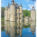 Reflexion of Castle by Martine Lambrechts