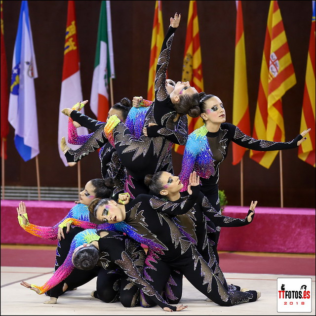 lll fase y final Copa de España Gimnasia Estética de Grupo Sant Cugat 2018