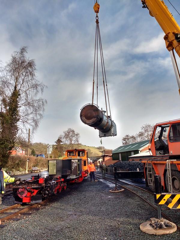 Lifting 699.01's boiler
