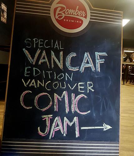 VanCAF Jam Chalkboard