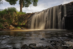 La cascade de Champortat. - Photo of Sallèdes