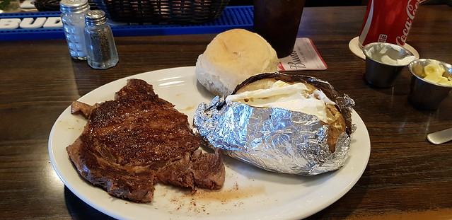 Fri, 06/01/2018 - 19:01 - 10 oz ribeye at the VFW