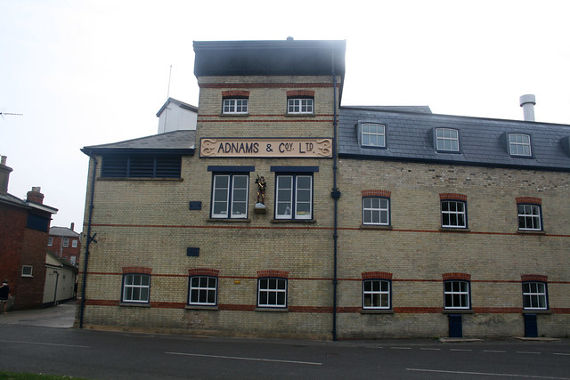The Adnams brewery, Southwold