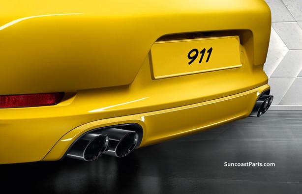 porsche 992 991 rear valance bumper paint primer