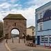 Monnow Bridge, Monmouth, Wales. UK