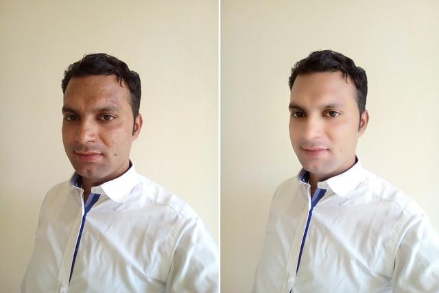 Selfie with Huawei Y5 Prime 2018