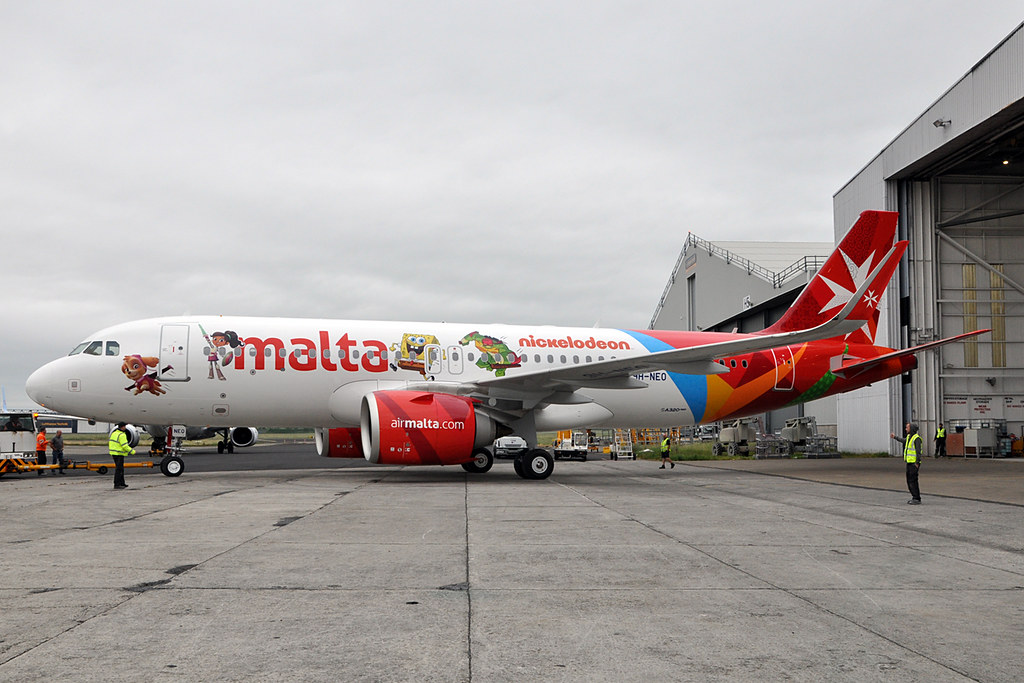 9H-NEO  A320-251N(SL)  Air Malta