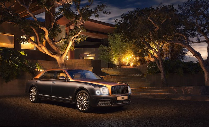 2016. Bentley Mulsanne Extended Wheelbase First Edition