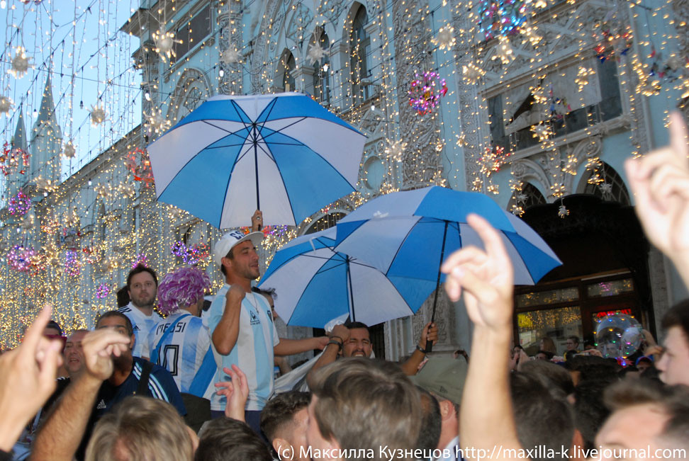 Argentinians in Moscow