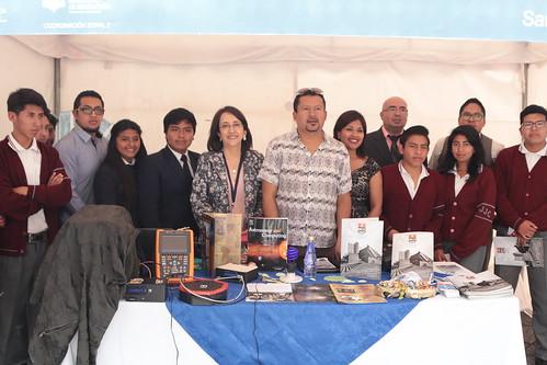 """II EXPO DE ORIENTACIÓN VOCACIONAL Y PROFESIONAL DE EDUCACIÓN TÉCNICA Y II CAMPEONATO ZONAL DE ROBOTICA """"EXCAMROZ II"""""""