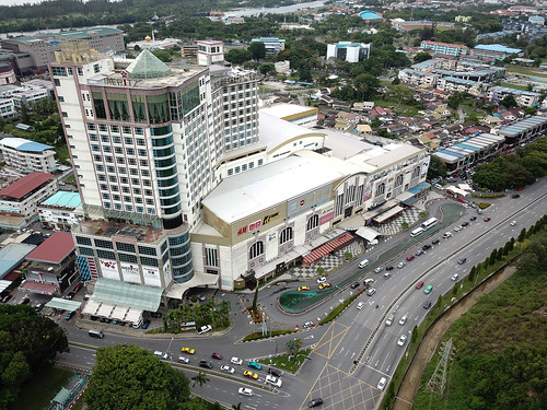 mall bintang miri megamall shopping intersection junction