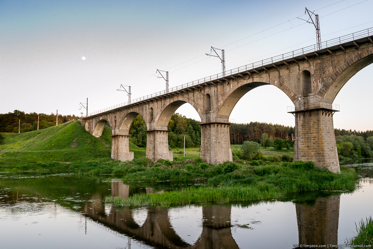 Железнодорожный мост в Новоград-Волынском