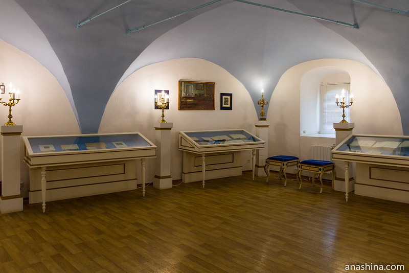 Экспозиция, посвященная книгам XVIII века, Спасо-Евфимиев монастырь, Суздаль