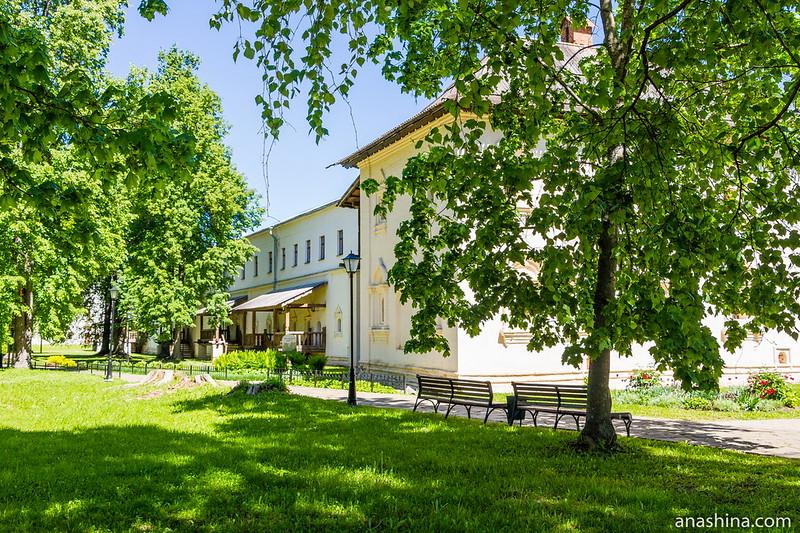 Братский (келейный) корпус, Спасо-Евфимиев монастырь, Суздаль